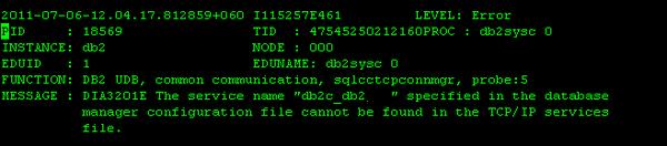SQL5043N