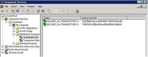 MS DTC and sys dm_tran_active_transactions (SQL Server DBA)