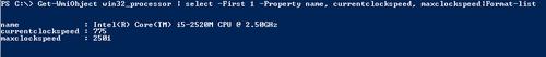 Get-wmiobject_win32_processor