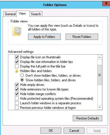 Windows Server 2012 empty recycle bin (SQL Server DBA)